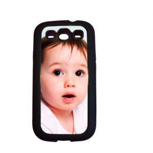Rubber case Samsung Galaxy S3 met foto