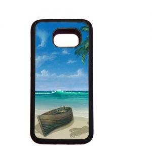 rubber case Samsung Galaxy S6 met foto voorbeeld
