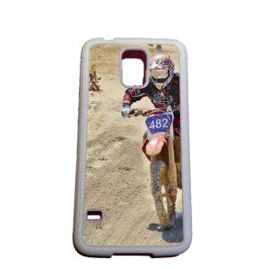 Rubber case Samsung Galaxy S5 met foto